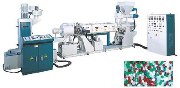 Pelletizing Machine with Plastic Recycling System